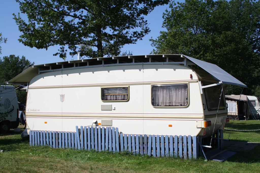 Wohnwagenschutzdach - Schutzdach Camping Zillertal
